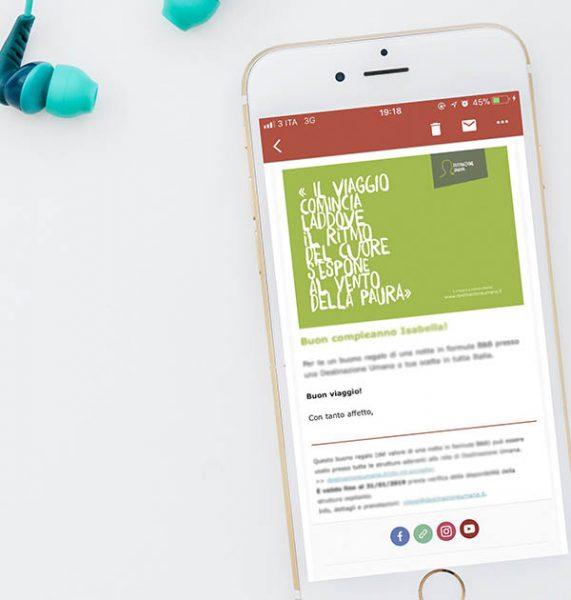 Gift Card Destinazione Umana (da inviare via e-mail)