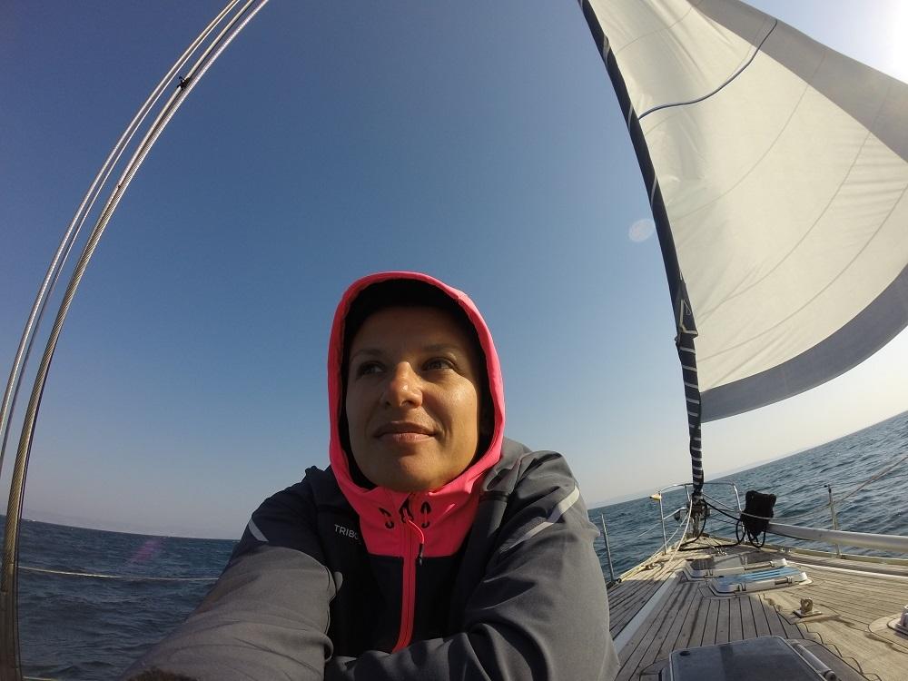 Il viaggio in barca a vela di Marilisa della Massara